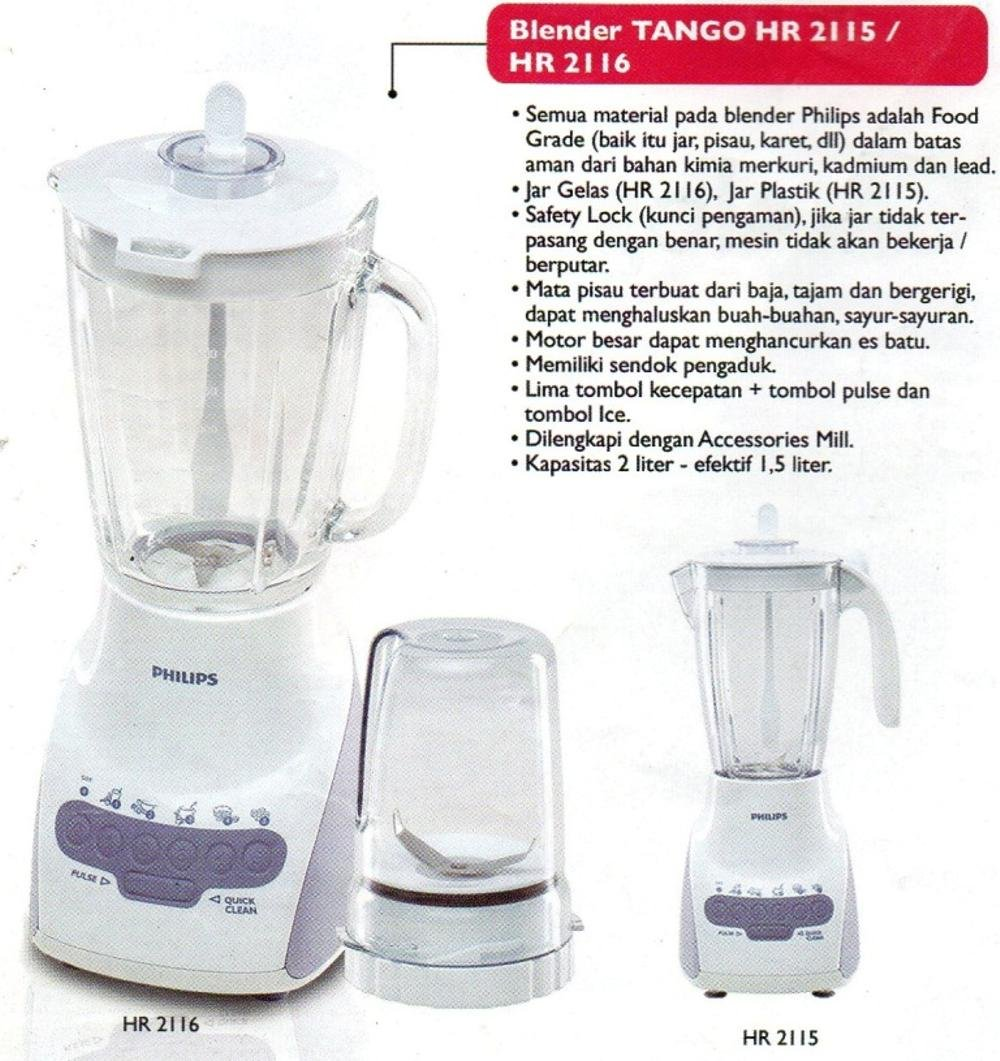 philips pro blend 6 manual