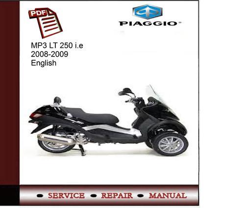 piaggio mp3 400 service manual