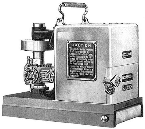 pitney bowes franking machine manual