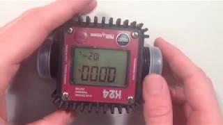 piusi k24 flow meter manual