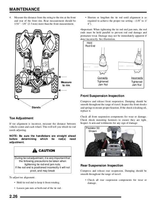 polaris outlaw 90 service manual