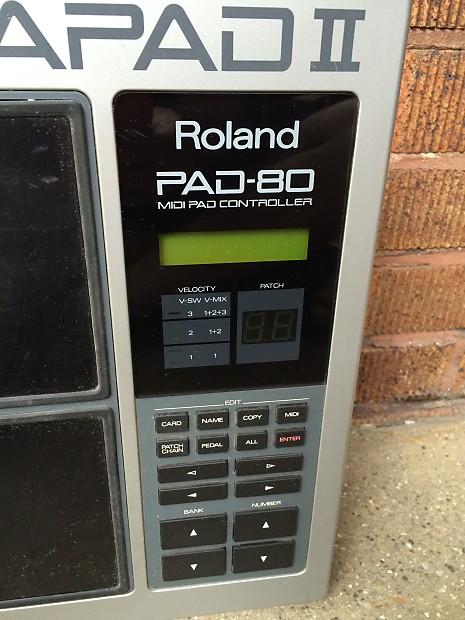 roland octapad ii pad 80 manual