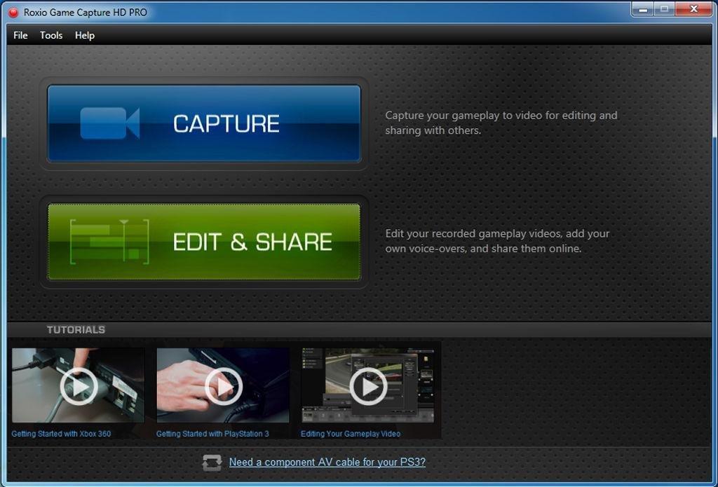 roxio game capture hd pro manual