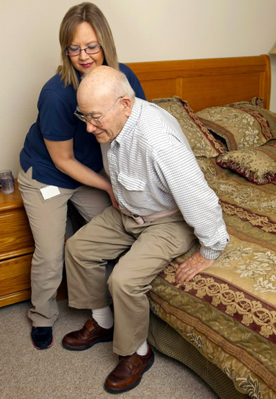 safe manual handling techniques in aged care