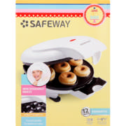 safeway mini doughnut maker manual