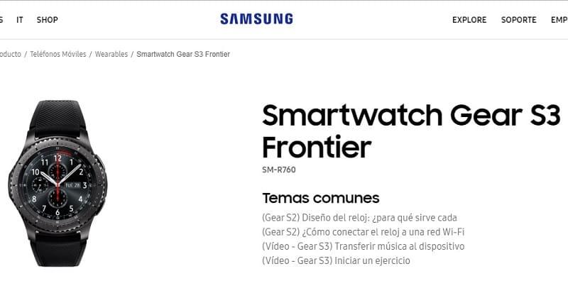 samsung gear s3 frontier manual pdf