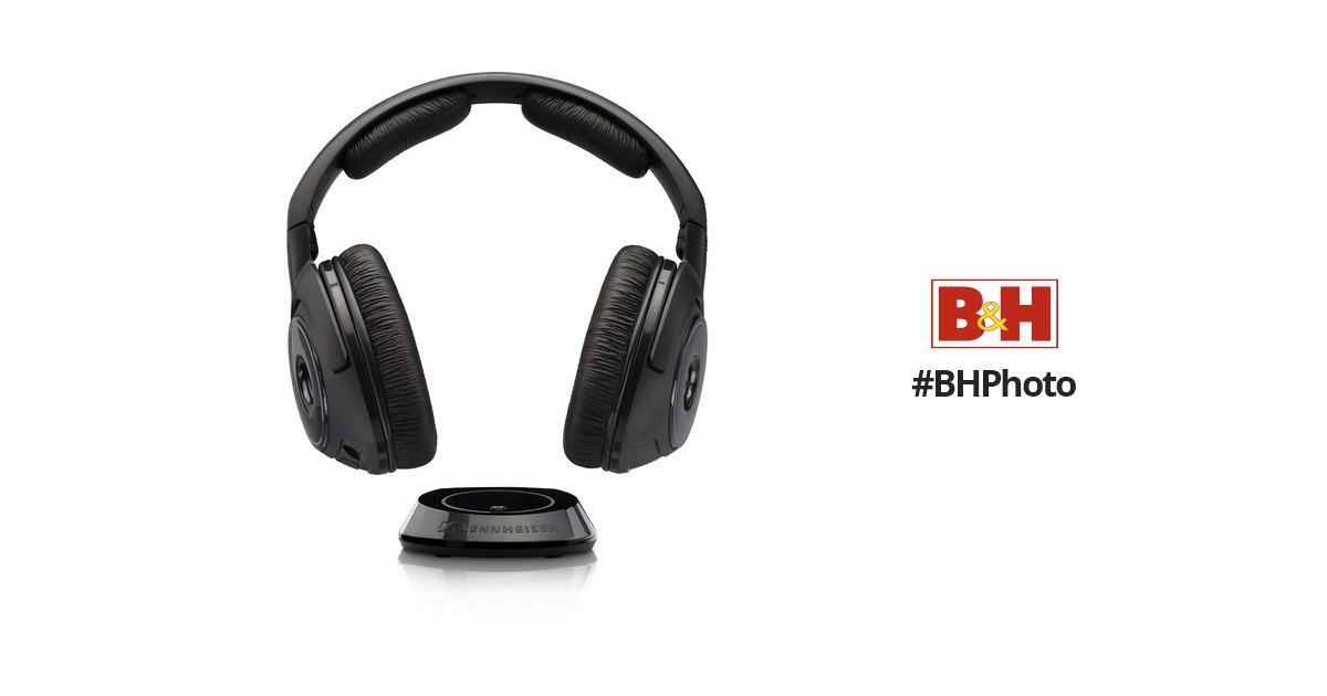 sennheiser rs 160 digital wireless headphones manual