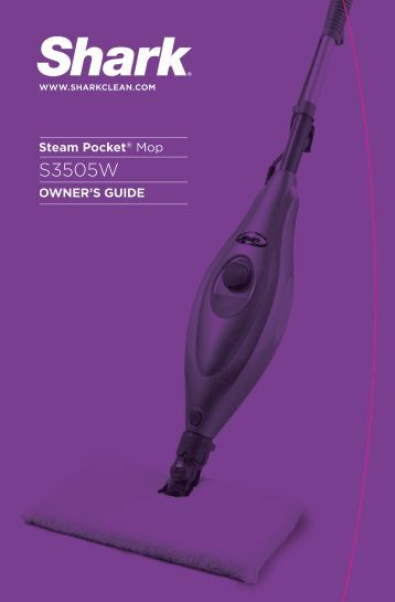 shark euro pro steam cleaner manual