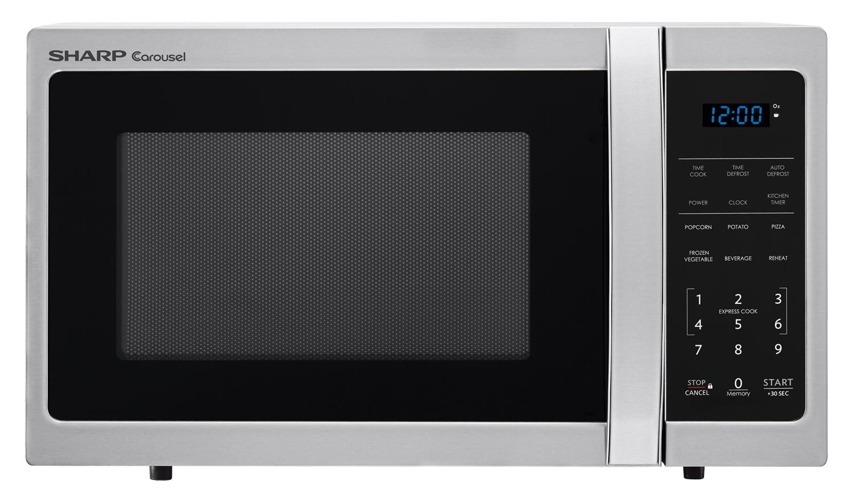 sharp carousel microwave manual defrost