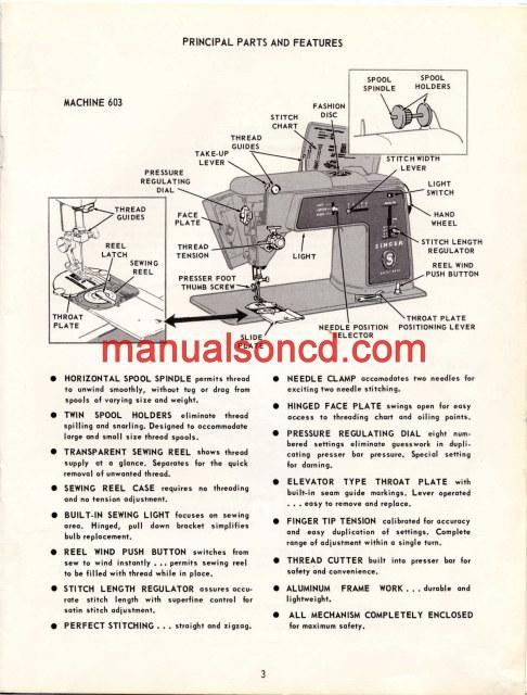 singer sewing machine service manual