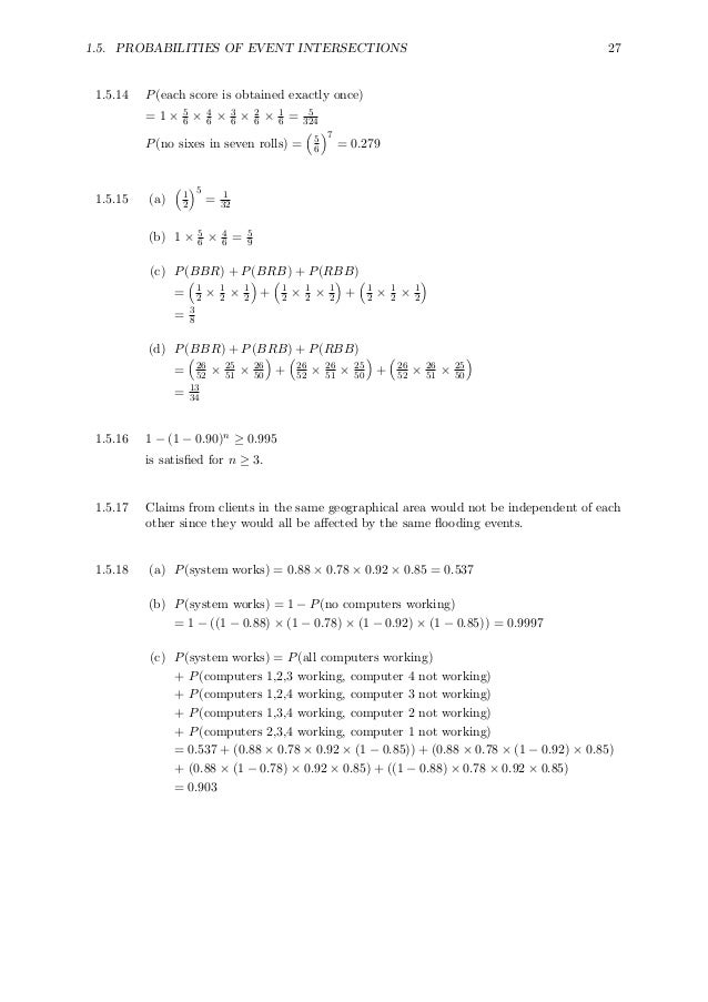 solutions manual for probability theory and examples
