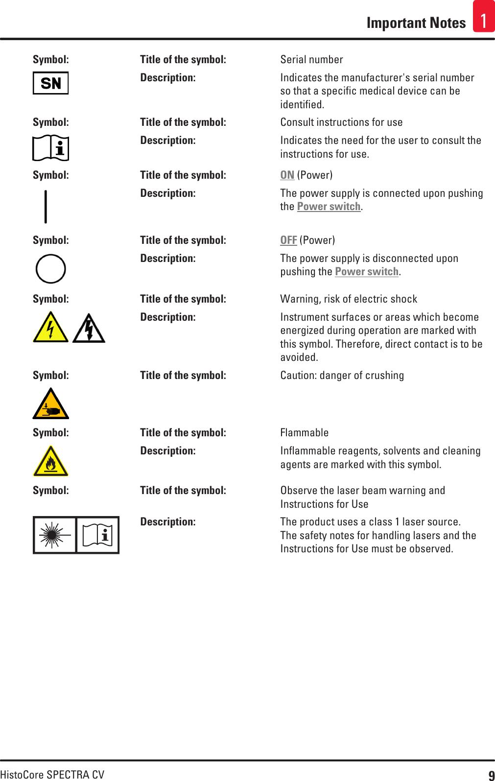 spectra 9 english user manual