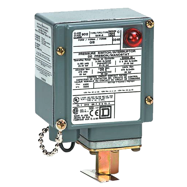 square d pressure switch 9012 manual