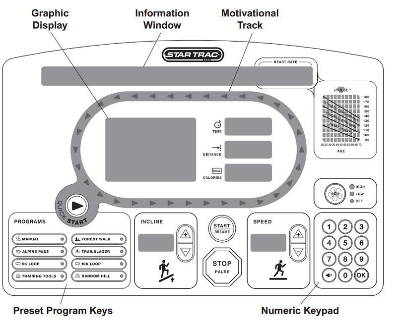 star trac pro treadmill manual
