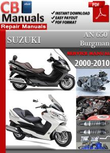 suzuki burgman 650 manual free download