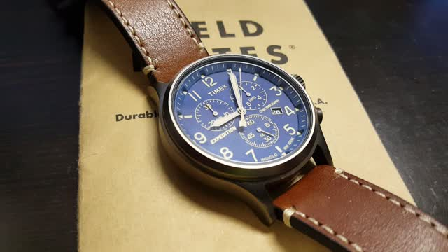 timex expedition scout chronograph manual