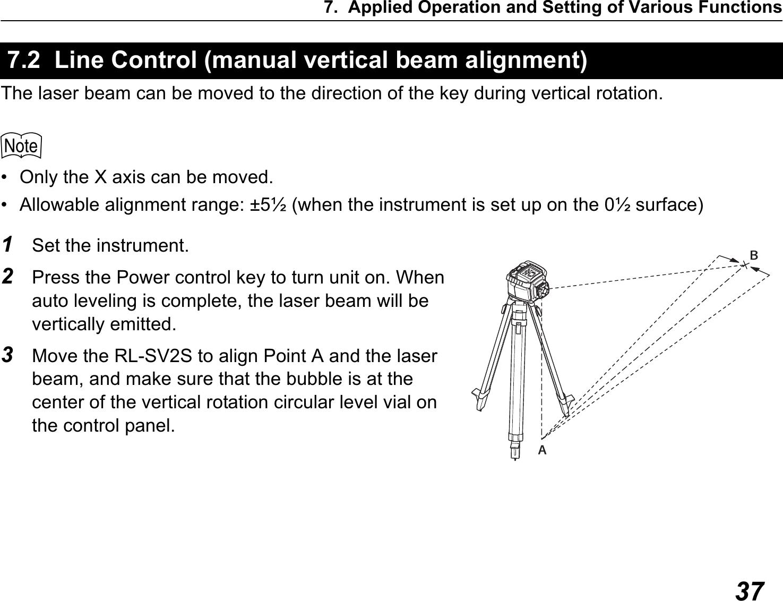 topcon rl sv2s user manual