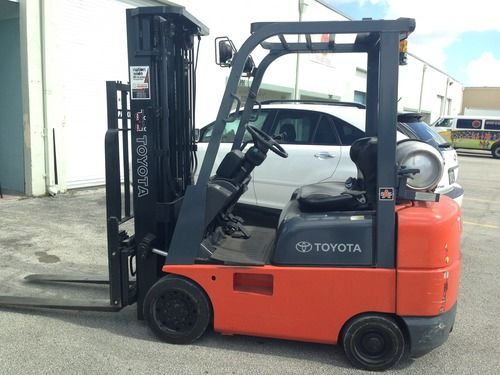 toyota 5 series forklift manual