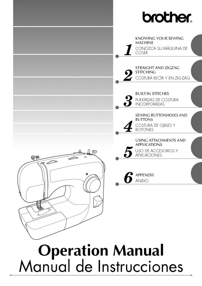 toyota jeans sewing machine manual