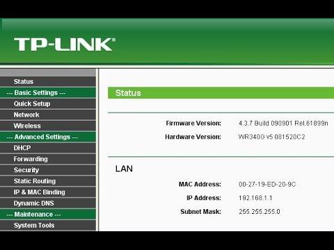 tp link configure dns manually
