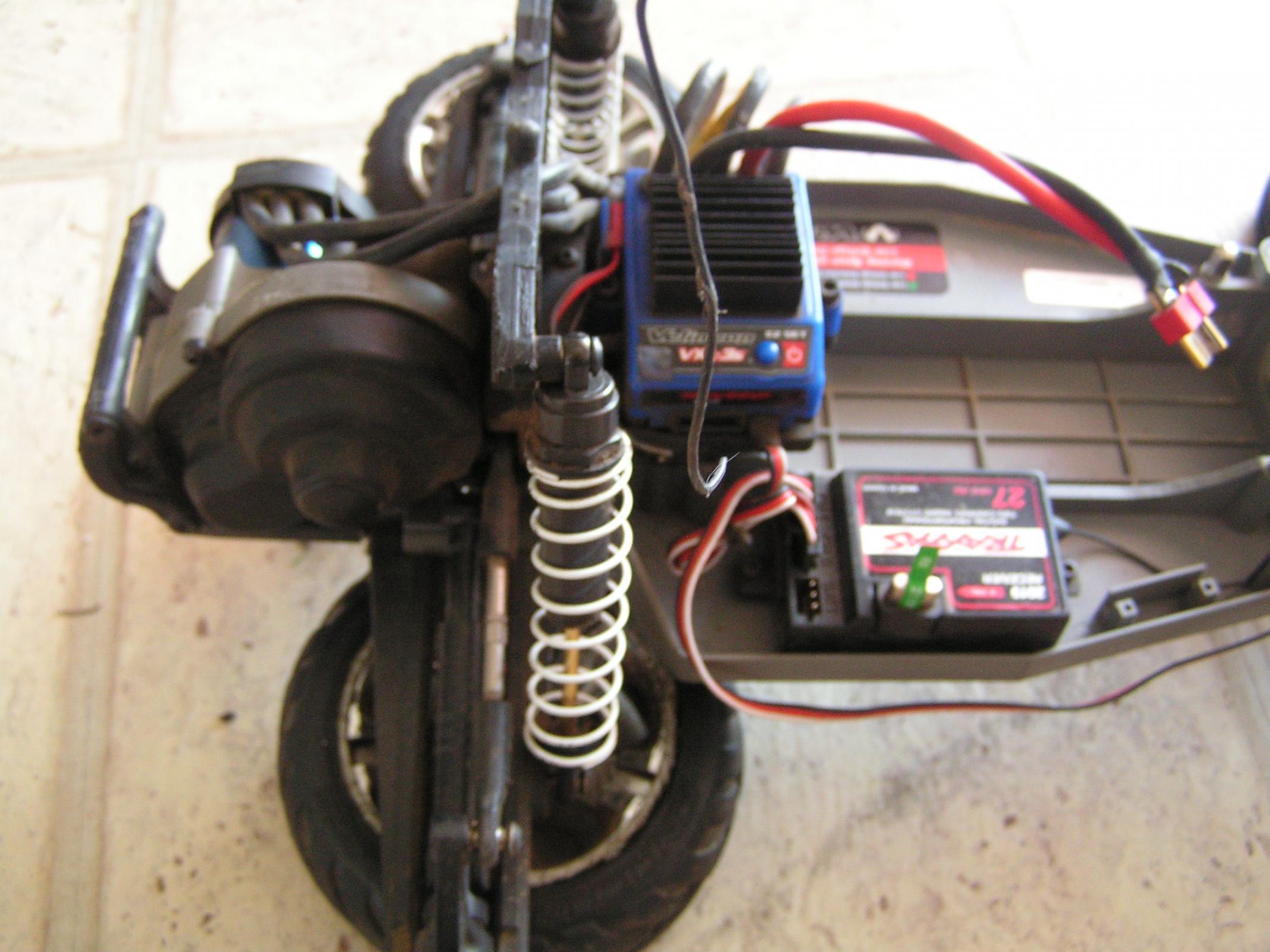 traxxas rustler vxl parts manual