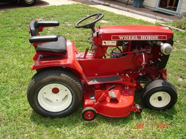 wheel horse 42 rear discharge deck manual