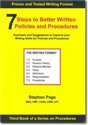 writing a procedure manual template