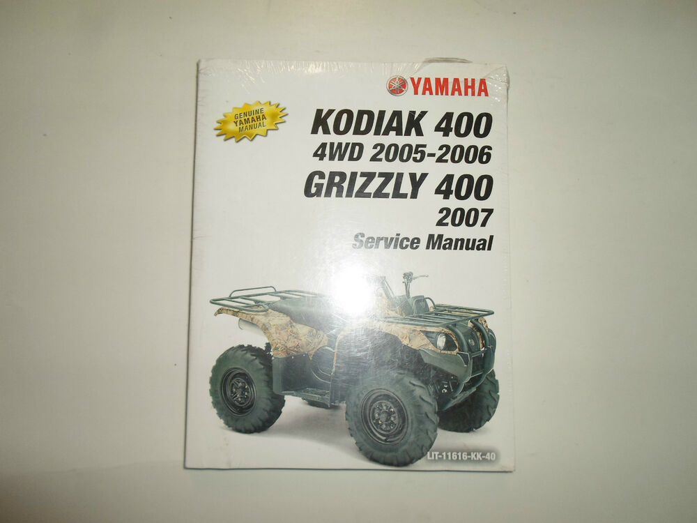 yamaha kodiak 400 manual pdf