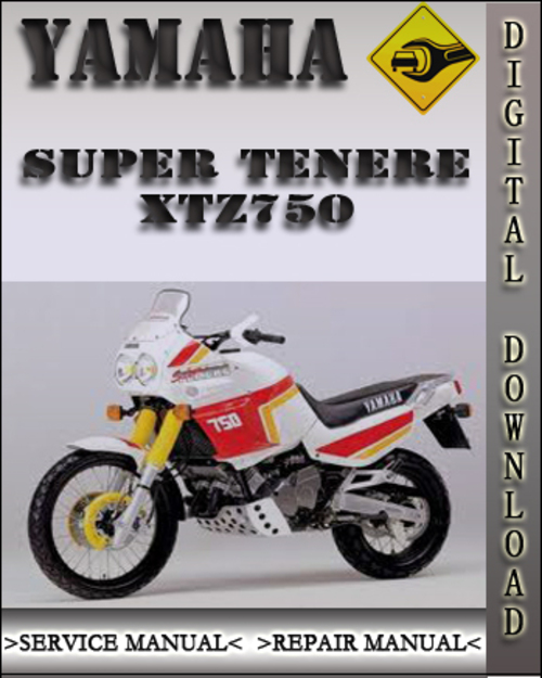 yamaha super tenere owners manual