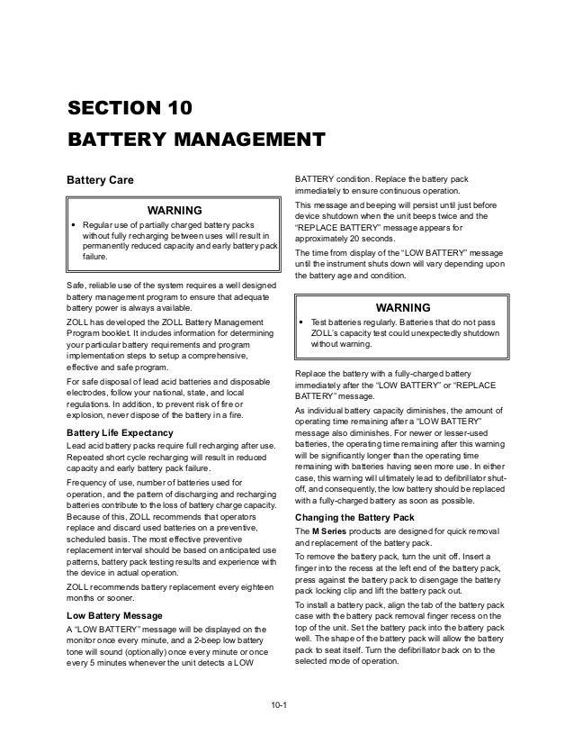 zoll m series user manual